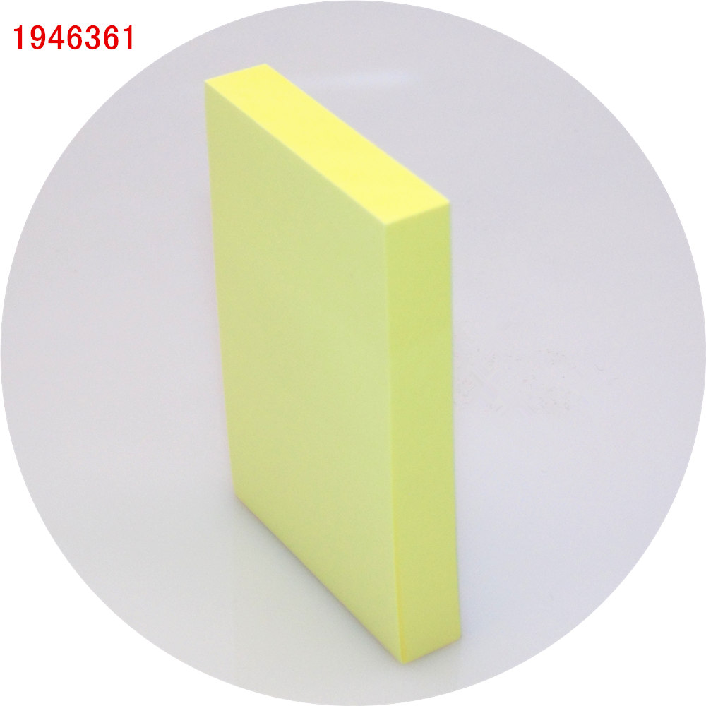 100 sheets 76*51mm Size colour paper Memo Pad Sticky Notes Bookmark ...