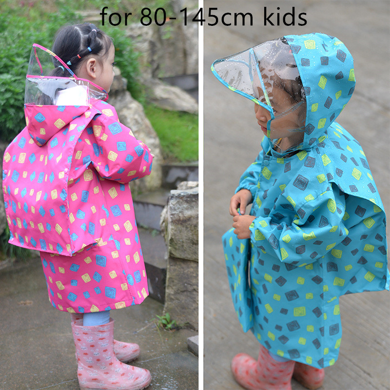 Waterproof Rain Coat Poncho Jackets Outdoors Rainsuit ...