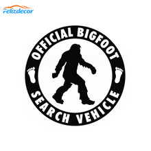 12*12cm Official Bigfoot Search Vehicle -Car Sticker Vinyl Decal Sasquatch Car Truck Laptop Notebook Art Decor Pattern Sign L975(China)