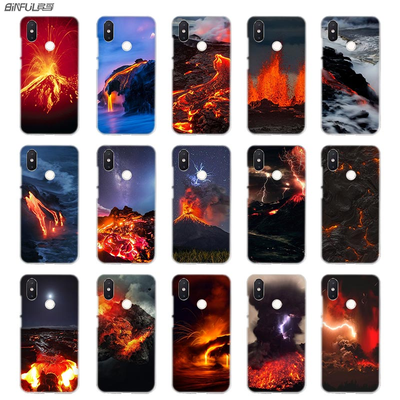 Half-wrapped Case Phone Bags & Cases Charitable Binful Phone Case Transparent Hard Cover For Xiaomi Mi Redmi Note 7 5 4 3 4x 5a 6 Pro 64g S2 Plus Lava Magma Relieving Heat And Thirst.