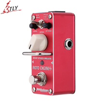 AROMA ARE-3 True Bypass Roto Engine Rotary Speaker Simulator Mini Single Electric Guitar Effect Pedal 3 Modes Selection