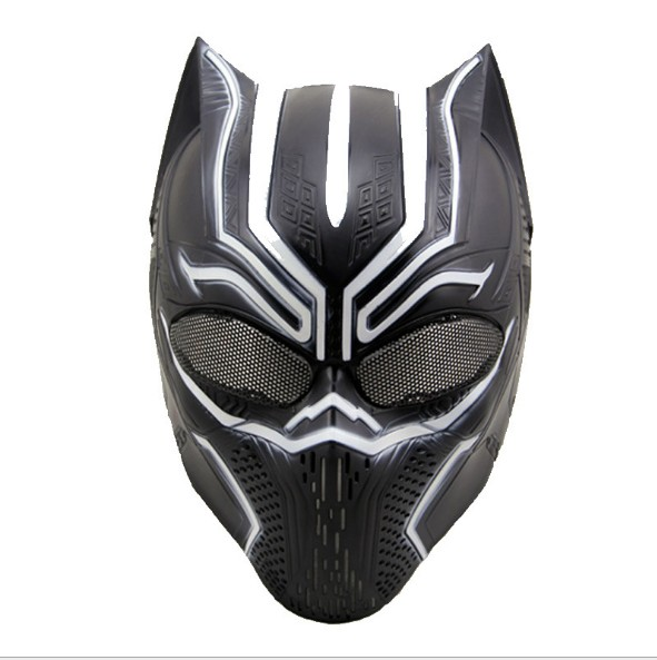 NEW hot avengers Black Panther Super hero mask action figure toys collection christmas gift toy ngineering plasticsNEW hot avengers Black Panther Super hero mask action figure toys collection christmas gift toy ngineering plastics