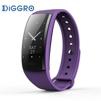 Diggro QS90 Bluetooth Smart Wristband Heart Rate Monitor Message IP67 Health Sports From ES RU DE