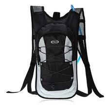 купить Cycling Backpack MTB 10L Bicycle Bag Outdoors Sport Backpacks Bike Bicycle Cycling Bag Bolsa Bicicleta +2L Water Bag недорого