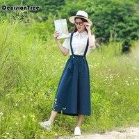 2019 summer japanese korean cute girls sailor suit student school uniforms clothing outfits short long shirts+skirt sets