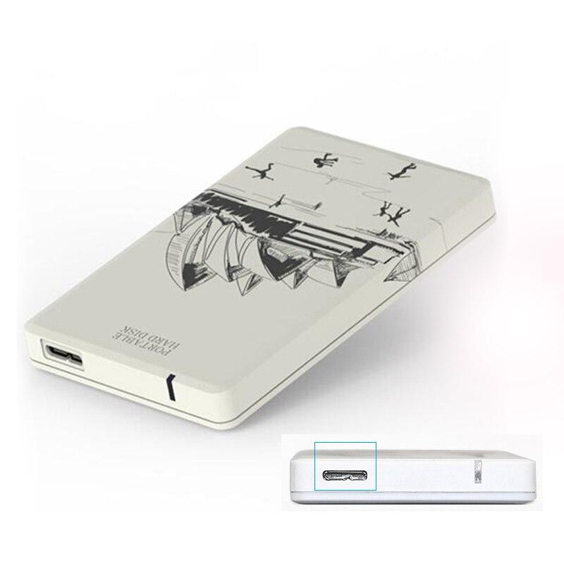USB 3.0 5 Гбит Внешние жесткие диски 250 г 2.5 дюймов ABS HDD корпус портативного SATA жесткий диск для ноутбука /Tablet/Desktop bluendless