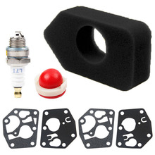 Replacement Parts Rebuild Kit Accessories Gasket Equipment Tools Lawn Mower Gardening Grass Air Filter Spark Plug