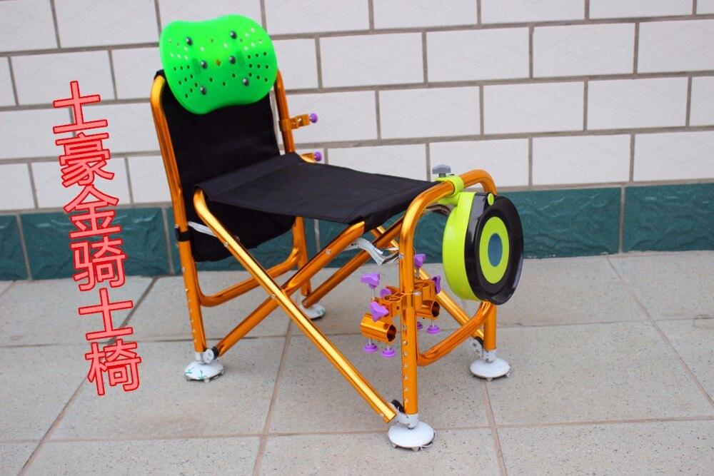 Anti scuotimento modelli multifunzionale pieghevole sedia di pesca