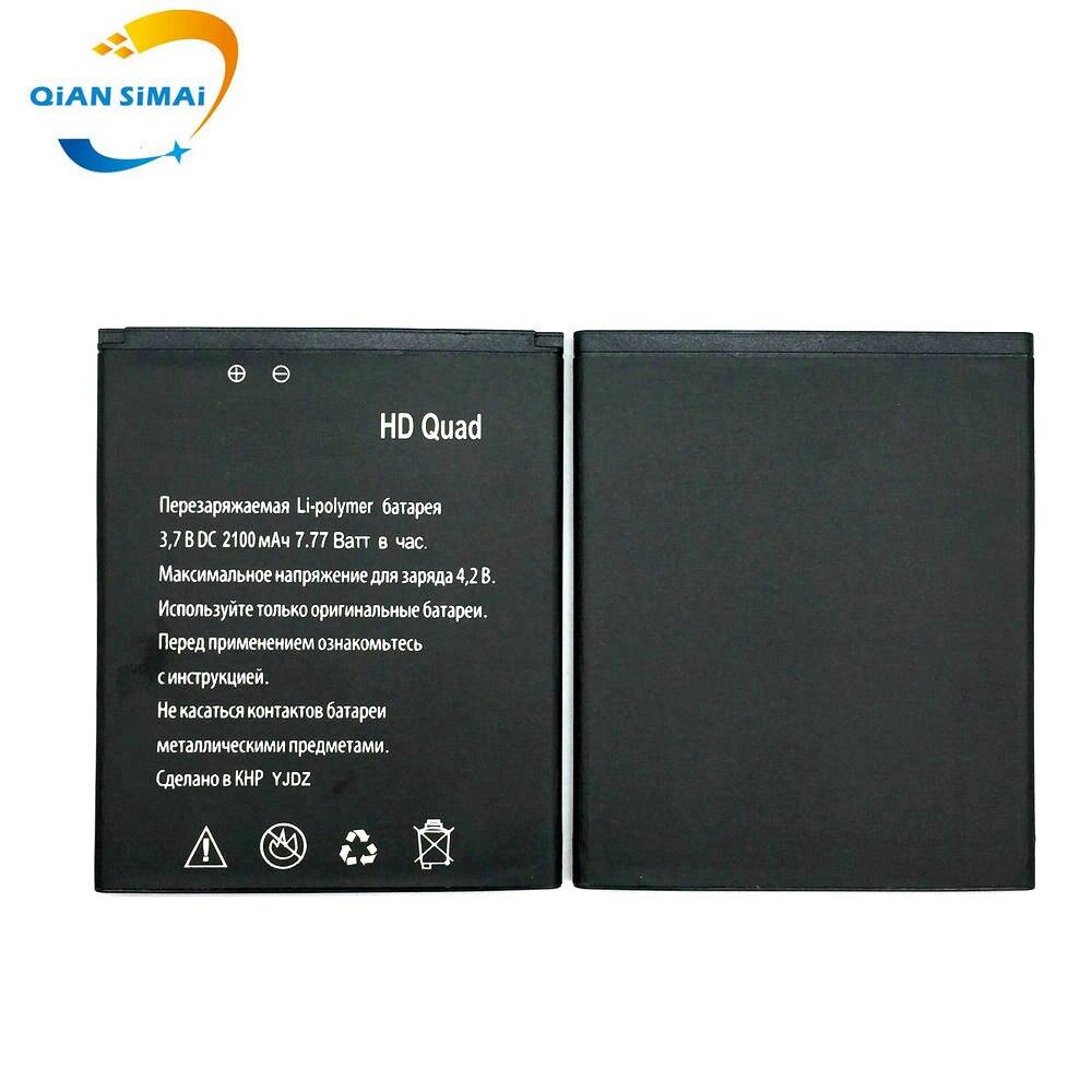 QiAN SiMAi 1PCS 2100mAH New High Quality <font><b>HD</b></font> Quad <font><b>Battery</b></font> For <font><b>Explay</b></font> <font><b>HD</b></font> Quad 3G Smartphone in stock free shipping +track code