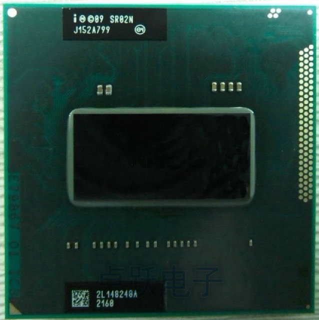 Original intel Neue CPU I7-2670QM SR02N I7 2670QM SRO2N 2,2G-3,1G/6 M Für HM65/ HM67 Laptop Prozessor