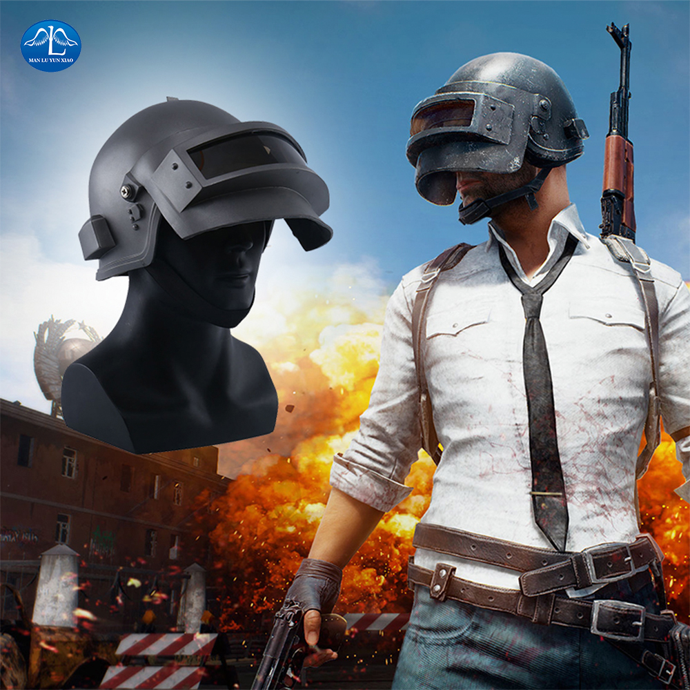 MANLUYUNXIAO New Arrival Men's Hot Game PLAYERUNKNOWN'S BATTLEGROUNDS Mask Halloween Cosplay Mask Helmet Men's Mask