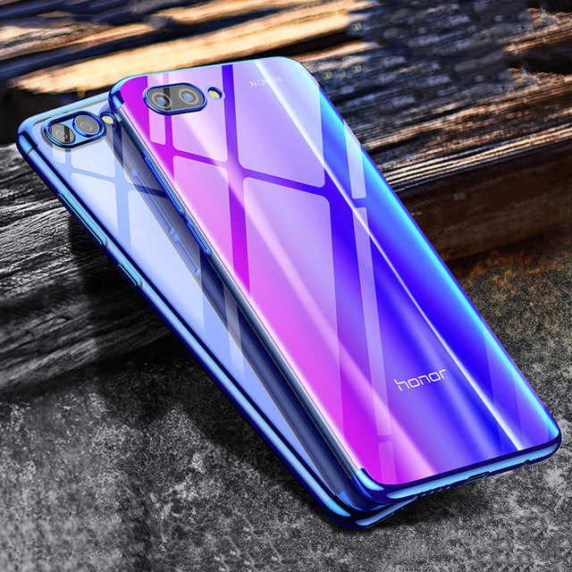 Plating Soft TPU Cases For Huawei Honor 10 9 8 7X V10 P20 P10 Lite Mate 10 P20 Pro P10 Plus P9 P8 Lite Ultra thin Cover Case