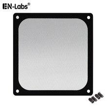 En مختبرات 12 سنتيمتر الإطار المغناطيسي شبكة سوداء الغبار تصفية الكمبيوتر برودة فلتر مروحة مع المغناطيس ، 120x120 مللي متر الغبار وحدة معالجة خارجية للحاسوب غطاء