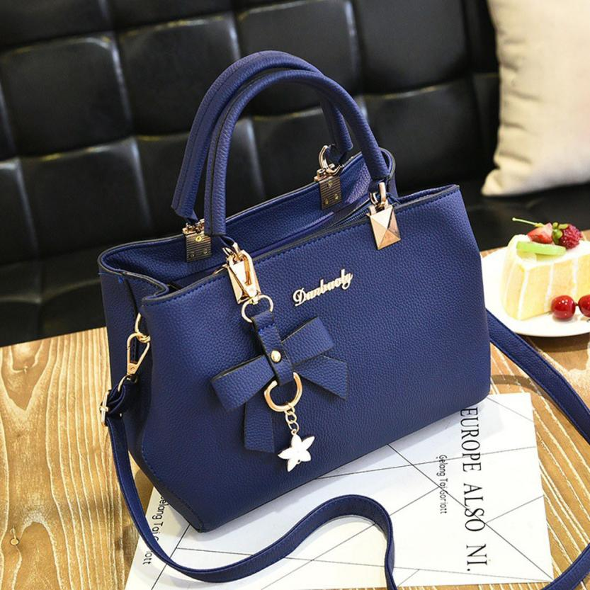 Boom Promotion in 2019, Crazy Purchase, Good Quality and Low Price, Handbags blue ordinary 47