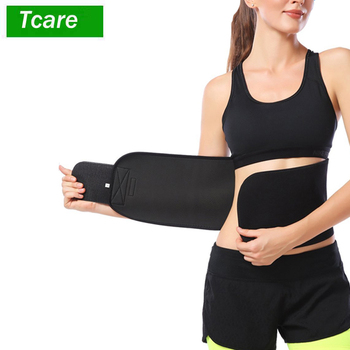 1Pcs Waist Trimmer Ab Belt, Weight Loss Waist Trainer- Best Abs accessories for Lower Back Support Stomach Back Lumbar Brace