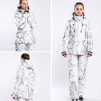 New Outdoor Winter Ski Jacket Pants Snowboard Jacket Women Ski Suit Female Womens Ski Suits Ropa