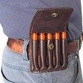Tourbon аксессуары для охотничьего ружья  Классический тактический кожаный держатель для ружья  чехол коричневого цвета  Вмещает 5 снарядов 30-06