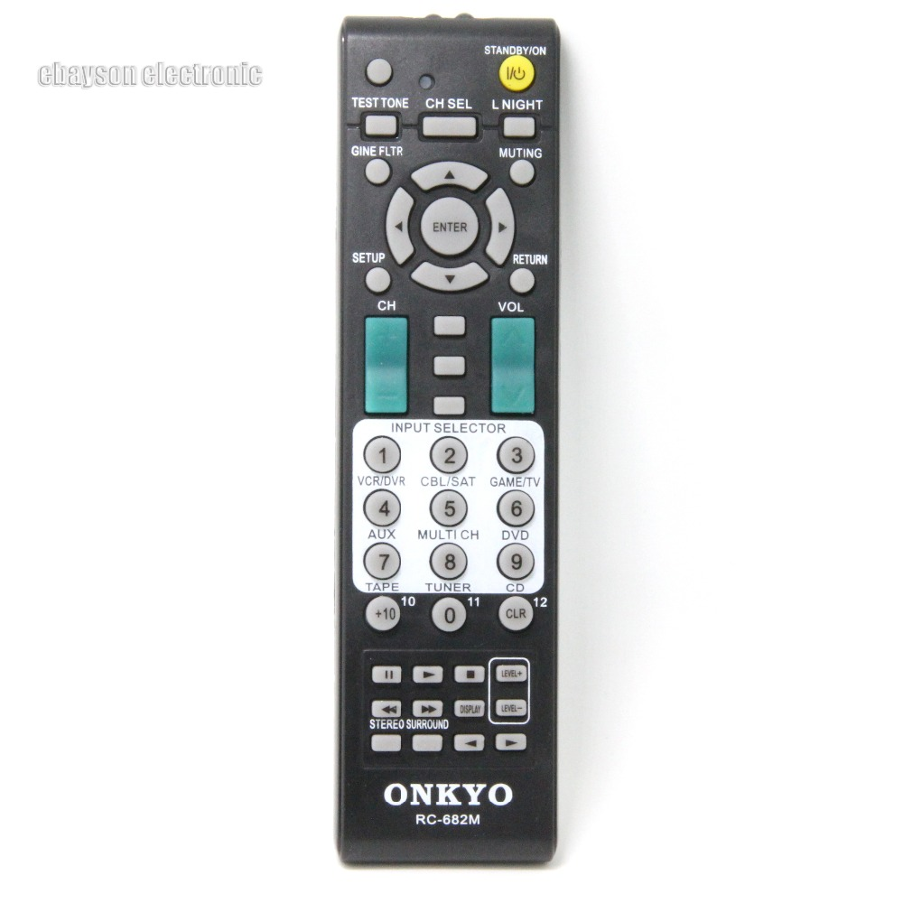 Generic Replacement Remote Control Fit for TX-SA606X-S RC-762M HT-R548 HT-R693 for Onkyo A//V AV Receiver