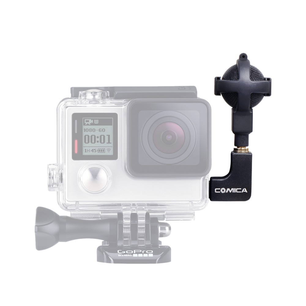 COMICA CVM VG05 Ball shaped Stereo Video Microphone Interview Microphone for GoPro Cameras Hero 3 3
