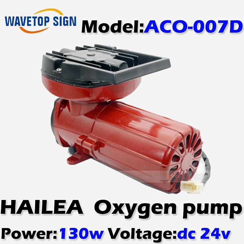 oxygen pump ACO-007D 130w DC 24V/140L/min/  0.1mpa/permanent magnet-type air compressors 8 l min electric diaphragm 12v dc mini air pump brush