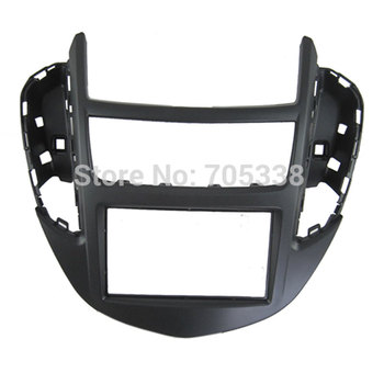Free shipping-car refitting dvd frame/front bezel/audio panel for 2014 Chevrolet Trax, 2DIN