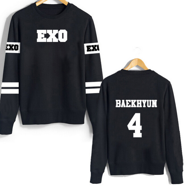 EXO Band Member Pullover Sweaters