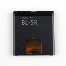 Original High Capacity BL-5K phone battery for Nokia 701 X7 00 C7 C7-00S Oro X7-00 2610S T7 N85 N86 N87 8MP BL5K 1200mAh