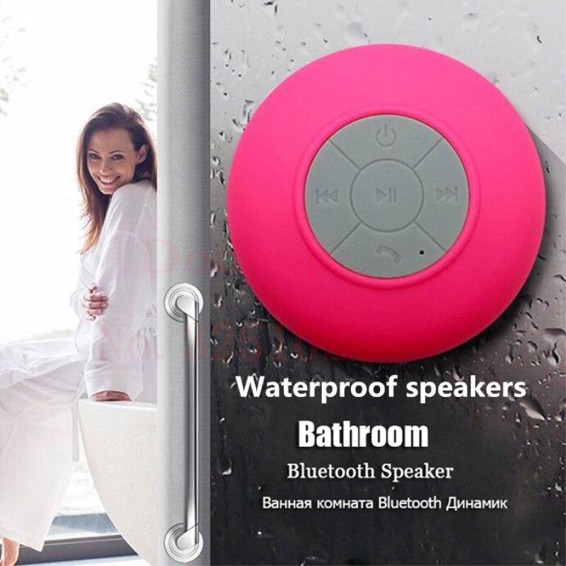 Wireless Bluetooth Speaker Universal Waterproof Outdoor Portable Handsfree Microphone Speaker Mini Portable Shower Music Player