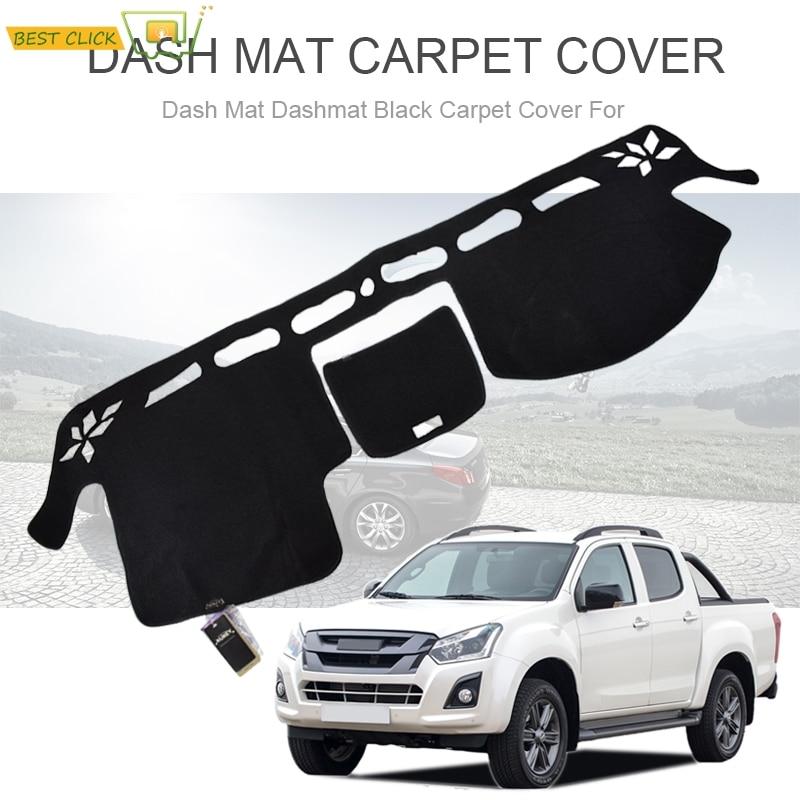 Interior Dashboard Dash Mat Cover For Isuzu D-max Dmax Pickup 2012-2018 LHD