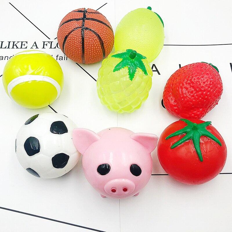 Splat Football Joke Gag Gift Squishy Toy