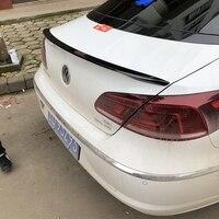 For Volkswagen VW Passat CC 2009 2016 Auto ABS Plastic Unpainted Color Rear Trunk Wing Lip Spoiler Car Accessories