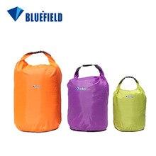 Bluefield Новинка 10л 20л 40л водонепроницаемая сумка для хранения сухая сумка для плавания сумка для каноэ каяк Рафтинг Спорт на открытом воздухе кемпинг