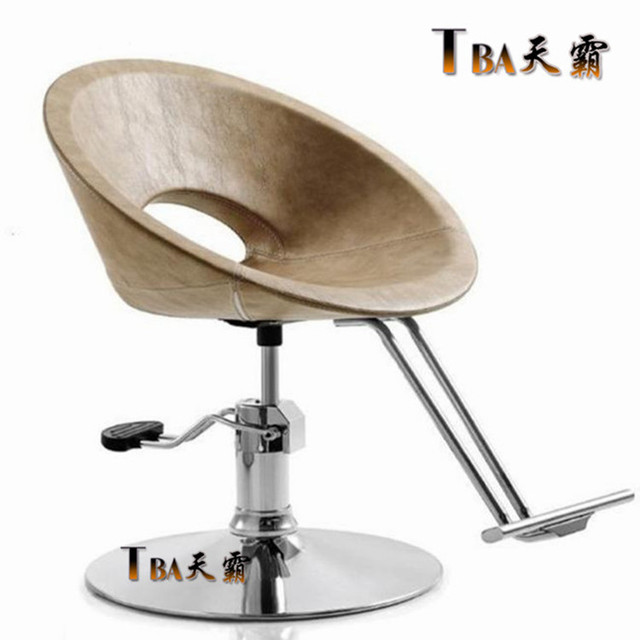 Custom vintage chair. Upscale hairdressing chair. Barber chair. Dye and hairdressing chair