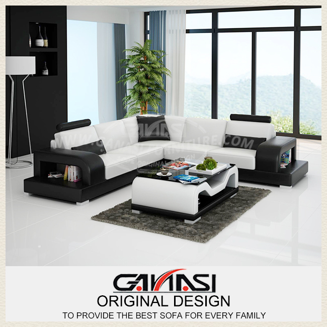 Ganasi Luxury Sofa Sets Modern Furniture Designer Leather
