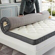 Chpermore утолщаются татами складной 1,5 м 1,2 кровать студент один двойной матрас для семья покрывала King queen Twin Полный размеры