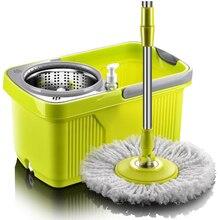 Mop Met Spin Noozle Mop Wassen Vloeren Doek Schoonmaken Thuis Hoofd Mop Voor Cleaning Floor Windows Huis Schoonmaken Bezem