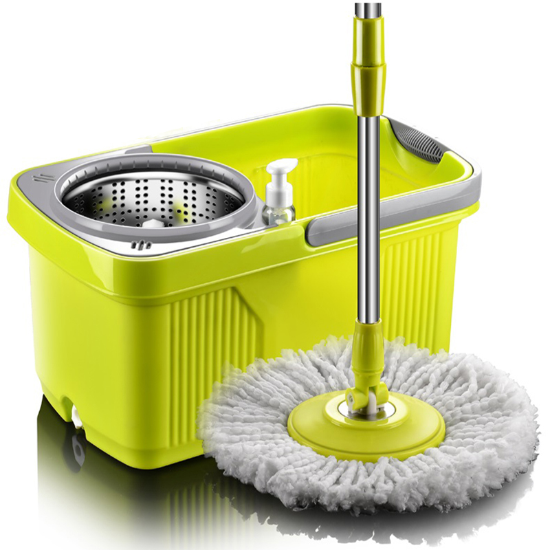 Sokoltec Mop With Spin Noozle For Mop Wash Floors Cloth Cleaning home Head Mop For Cleaning Floors Windows House Cleaning Broom-in Mops from Home & Garden