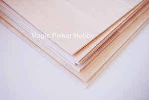 Image 3 - AAA+Balsa Wood Sheet Balsa Plywood A3 A4 size 420mmx297mm 297mmx210mm 2~5mm Thickness For RC Airplane Boat Model Sand Table DIY