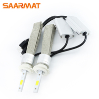 2 X Auto Headlight Bulb Set H7 LED Tailor Made High Power 96W 9600lm Xenon White