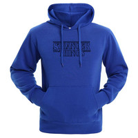 Trendy Faces Stranger Things Hooded Mens Hoodies And Sweatshirts Oversized For Autumn With Hip Hop Winter