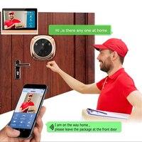 Upgraded WIFI Video Intercom Door Phone Smart Home Security System WiFi Doorbell Camera Front Door Security