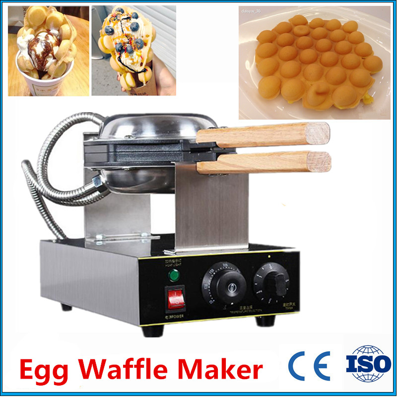 Фотография Brand New Electric 220V 110V Exports To USA Canada Japan Egg Waffle Makers Hong Kong Egg Puffs