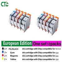 1Set 10 PCS PGI 5 CLI 8 Ink Cartridge For Compatible Canon Pixma IP4200 IP4300 IP4500