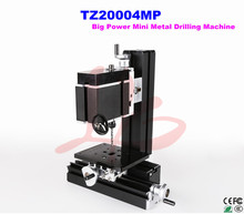 60W Electroplated Metal DIY mini drill lathe machine TZ20004MP