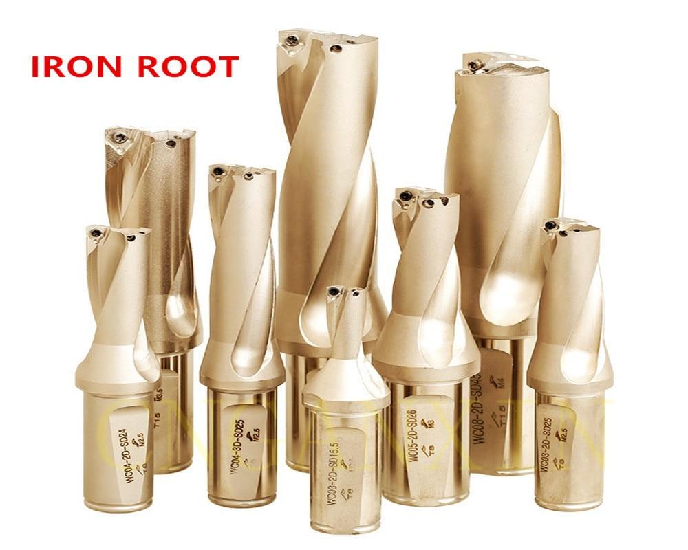 1P C25-4D19 SP06 CNC U drill indexable drill bit For SPMG06 Insert