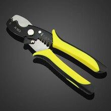 Herramienta Multi 18 cm Cable Pelacables Alicates Pelacables Cortador de Tijera De Corte 1.6-4.0mm Herramientas de Mano de CLH