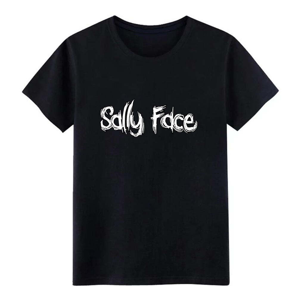 sally face   t     shirt   Design cotton size S-3xl Basic Solid Cute Building summer Unique   shirt