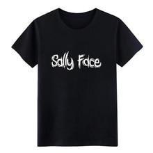 sally face t shirt Design cotton size S-3xl Basic Solid Cute Building summer Unique