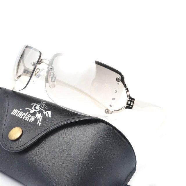 be1a082c1b7 2018 Vintage Rimless Sunglasses Women Luxury Diamond Design White Square  Frame Brand Sun Glasses For Women