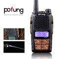Pofung УФ-6R UHF/VHF Аналоговых двусторонней Радиосвязи Двойной Дисплей Двойной Режим Ожидания Handheld Walkie Talkie FM Трансивер US Plug
